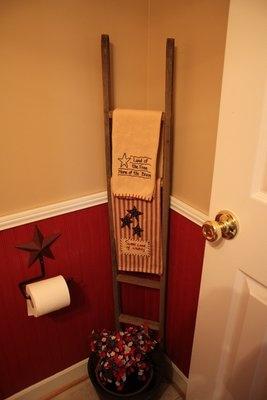 Idee Shabby Chic Provenzali e Country per sistemare gli asciugamani  Arredamento Provenzale