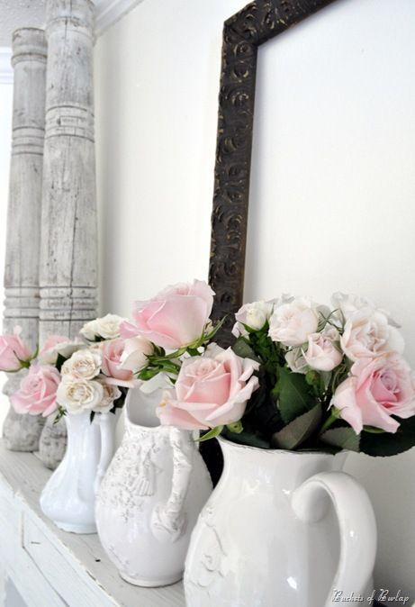 Ispirazioni Shabby Chic per un San Valentino che omaggia il bianco  Arredamento Provenzale