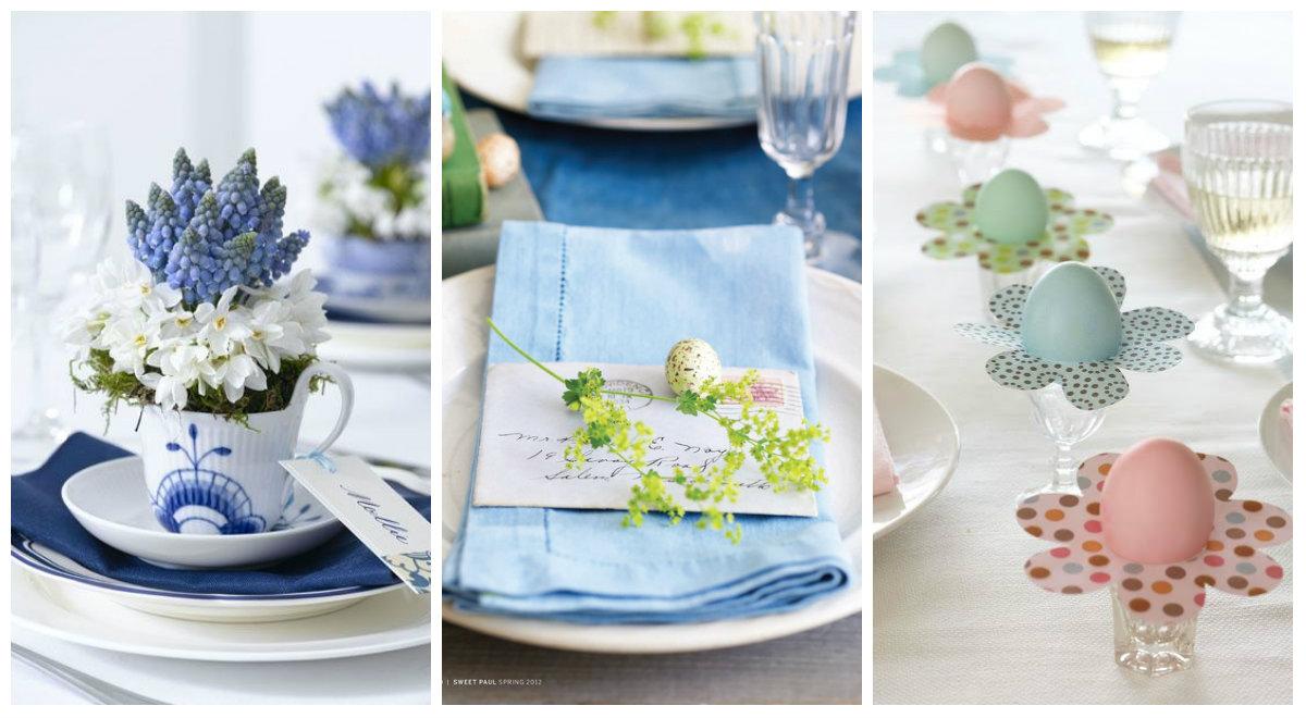 I segnaposti perfetti per un pranzo di Pasqua Shabby Chic  Arredamento Provenzale