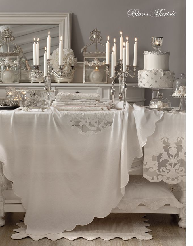 Idee bellissime per la tavola a Primavera dal brand Blanc Maricl  Arredamento Provenzale