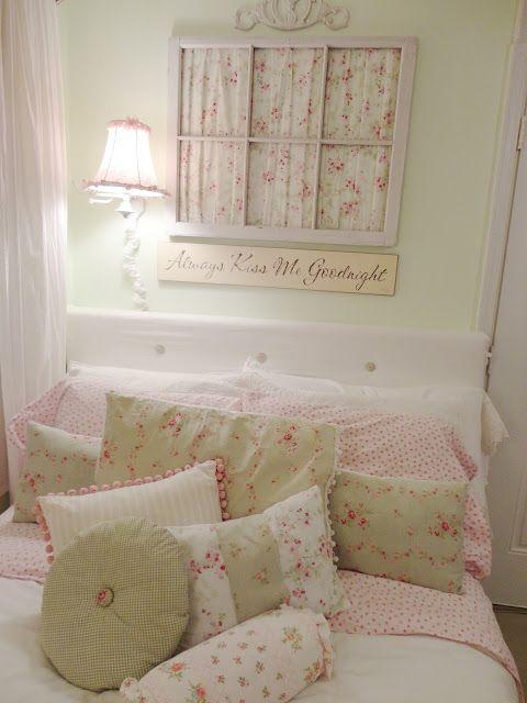 Idee e dettagli per decorare la camera da letto Shabby