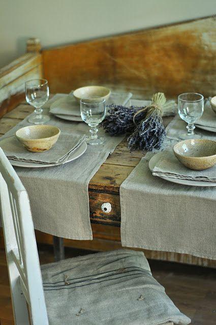 Idee e consigli per una tavola apparecchiata Shabby Chic in maniera perfetta  Arredamento