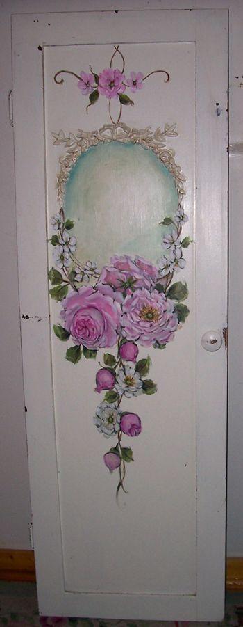 Come decorare una vecchia porta con il decoupage