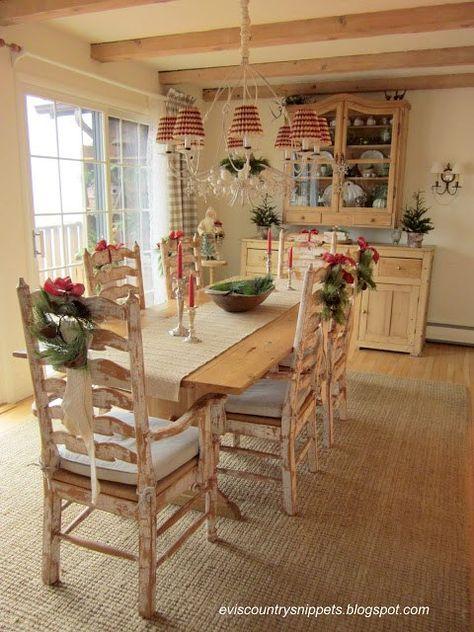 Pranzo di Natale Ecco come decorare le sedie in stile
