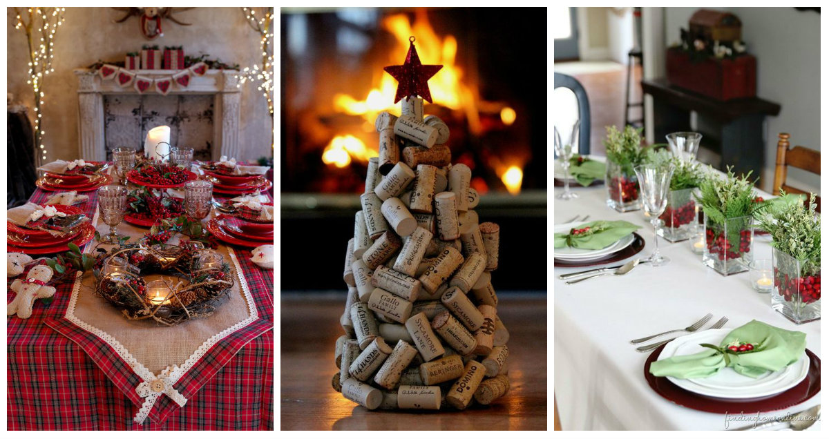 Apparecchiatura di Natale consigli da non perdere  Arredamento Provenzale
