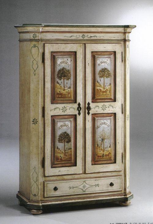 mobili dipinti decorazione artigianale