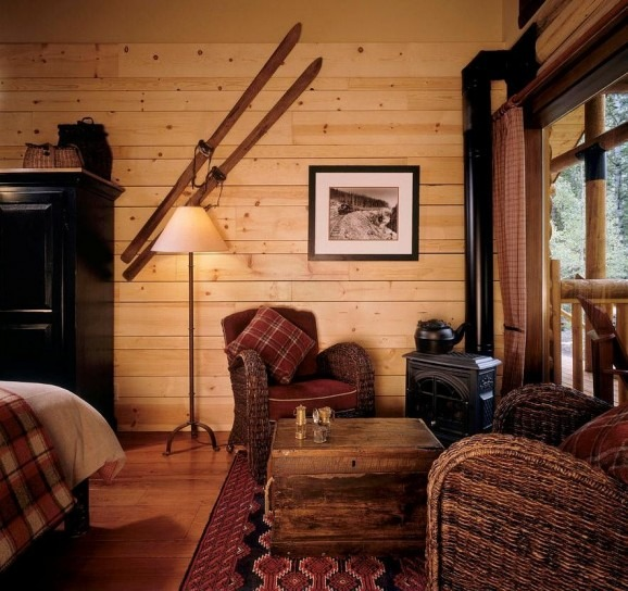 soggiorno rustico mobili arredamento