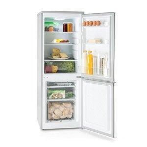 KLARSTEIN Bigpack  Frigoriferocongelatore capacit 160 L congelatore 45 L 3 cassetti Freezer Frigorifero 115 L 42 Db Temperatura Regolabile 1 Vassoio per cubetti Ghiaccio Argento