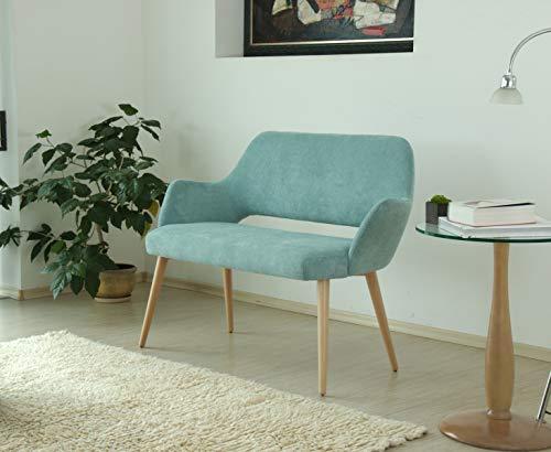 Marchio Amazon Alkove divano decorativo modello Andre colore turchese