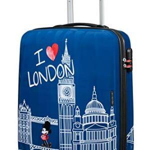 American Tourister Disney Legends  Spinner S Valigia per Bambini S 55 cm  36 L Blu Take Me Away Mickey London