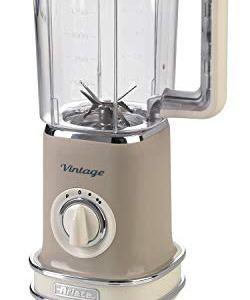 Ariete 568 Frullatore Vintage  Frullatore con 500 watt e tazza graduata da 15 litri 2 velocit  pulse in colore Beige pastello