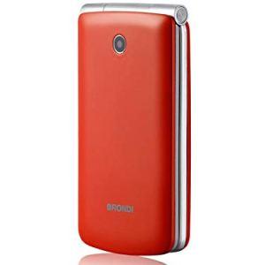 Brondi Magnum 3 Telefono Cellulare Tastiera Fisica Rosso Chiuso 109x58x19 mm