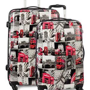 Fabrizio Trolley 2er SetLondon di valigie 77 cm 89 liters Multicolore Bunt