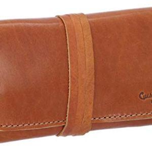 Gusti Leder studioWren borsetta porta tabacco sigarette tabacco cartine vera pelle vintage classico naturale marrone 2T10225