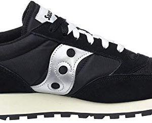 Saucony Jazz Original Vintage Sneaker Unisex  Adulto Nero BlackWhite 10 39 EU