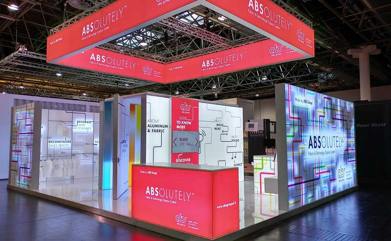 Abs Group Absolutely sistema allestitivo