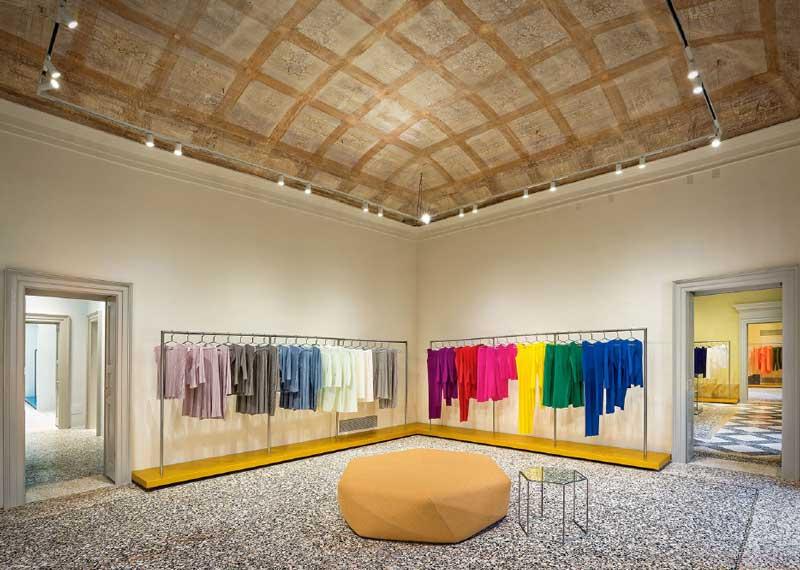 Issey Miyake flagship store Milano project Tokujin Yoshioka