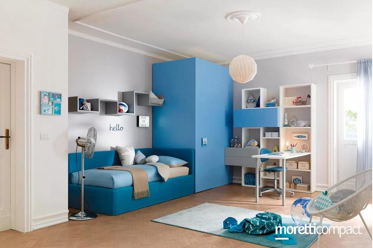 Moderne e funzionali, le nostre camere matrimoniali sono pratiche soluzioni. Cameretta Moretti Kc 314 Arreda Srl