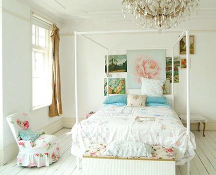 Tende per la mia camera in Stile Shabby Chic  Arredativo Design Magazine