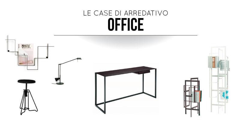 Le Case di Arredativo: stanza ufficio in Minimal Style