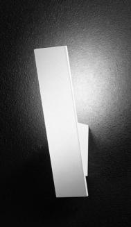 6110 LAMPADA DA PARETE A LED IN METALLO BIANCO