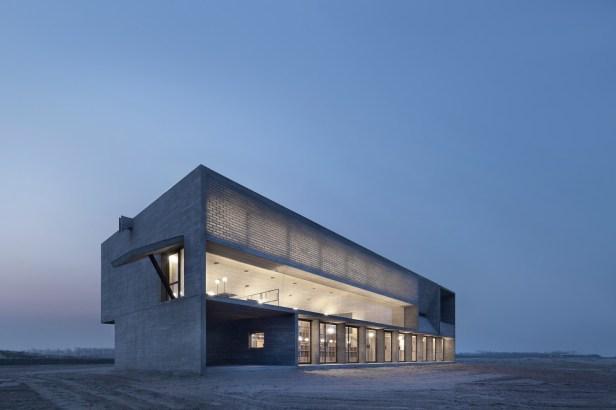 Gong Dong – Vector Architects Biblioteca in riva al mare / Seashore Library Nandaihe (Cina / China), 2014-2015 Photo by: Xia Zhi