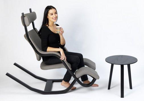 stokke gravity balans chair rocker recliner varier - standard colors ergonomic