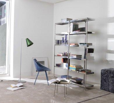 Un must tra le librerie moderne per uno stile originale e innovativo. Driade Zigzag Bookcase