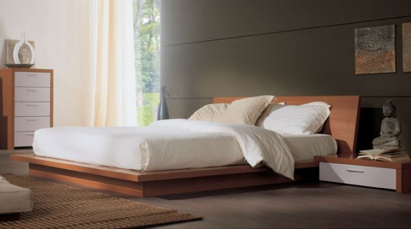 lit tahiti avec cadre de lit zen