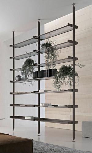 Zenit libreria in alluminio  Arredica