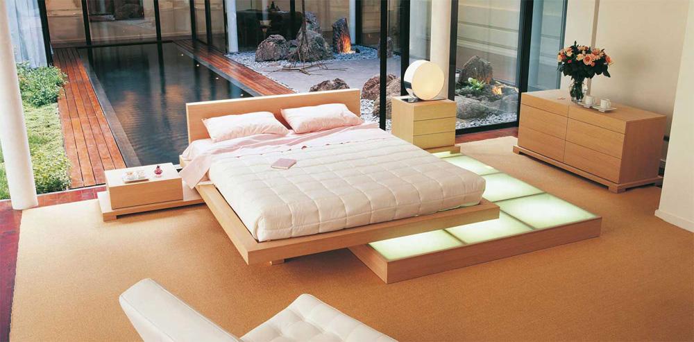 Moonlight la camera da letto con illuminazione a pedana  Arredica
