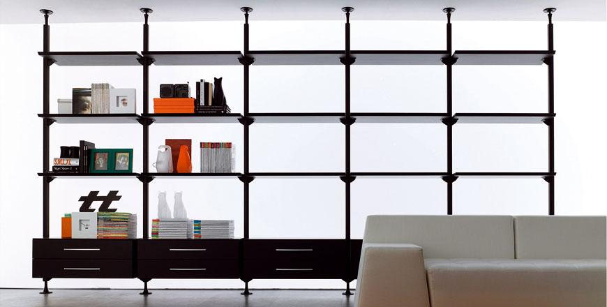 Web System Sistema Cabina Armadio o Libreria in Alluminio  Arredica