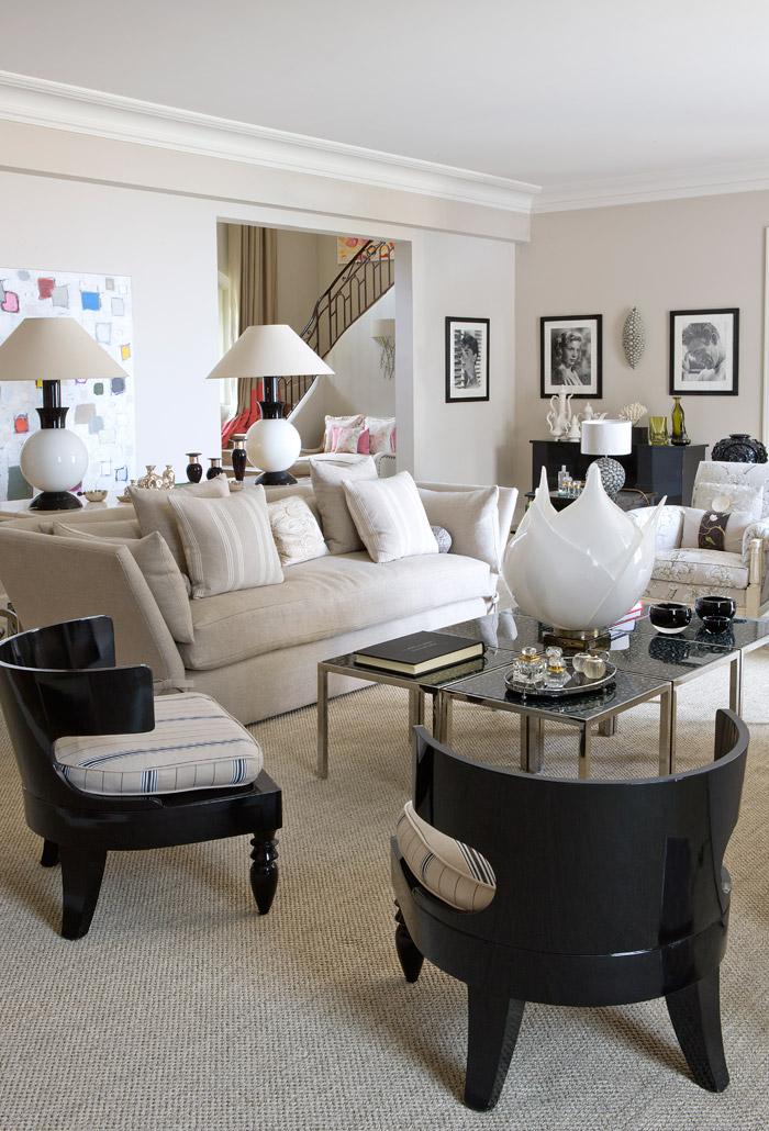 Una Villa in Francia Arredata in perfetto Stile British