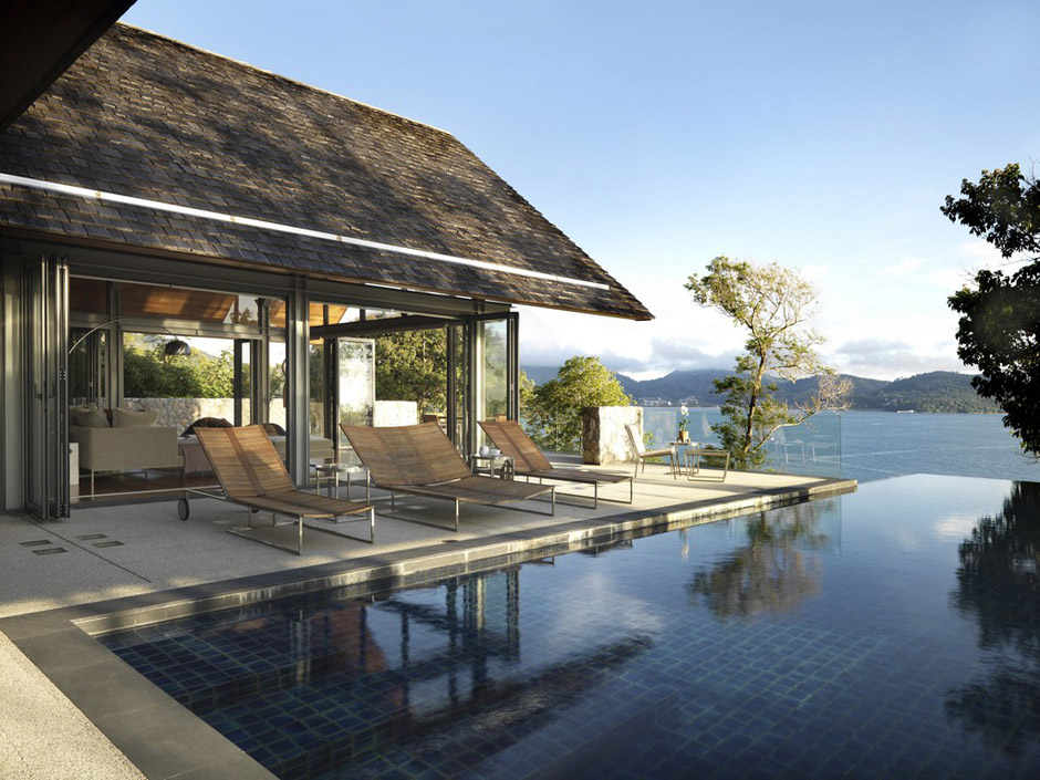 Villa in Thailandia con vista Oceano  Arredica