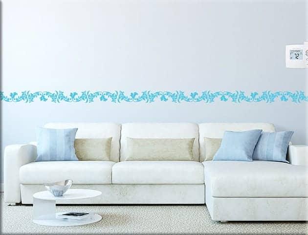 Greche adesive per camere da letto  Colori per dipingere