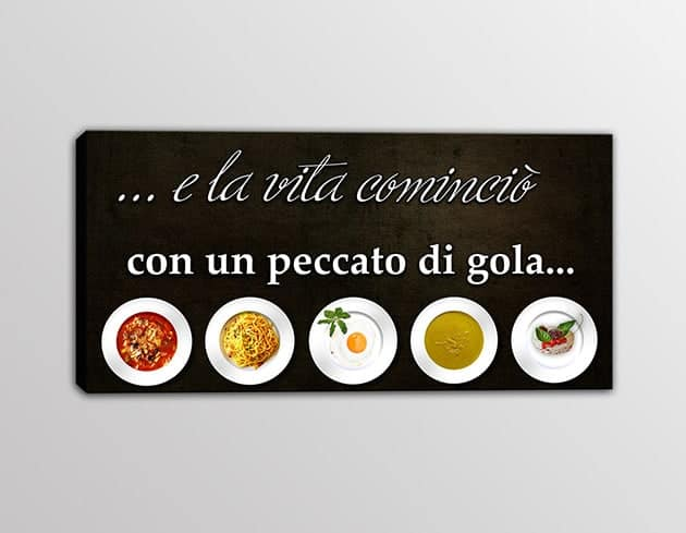 Quadro Per Cucina - Idee per la progettazione di decorazioni per la ...