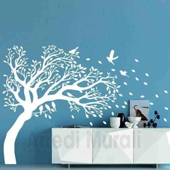 Vediamo ora quali sono i migliori adesivi. Adesivi Murali Albero Decorazioni Da Parete Anche Speculare Effetto Tattoo