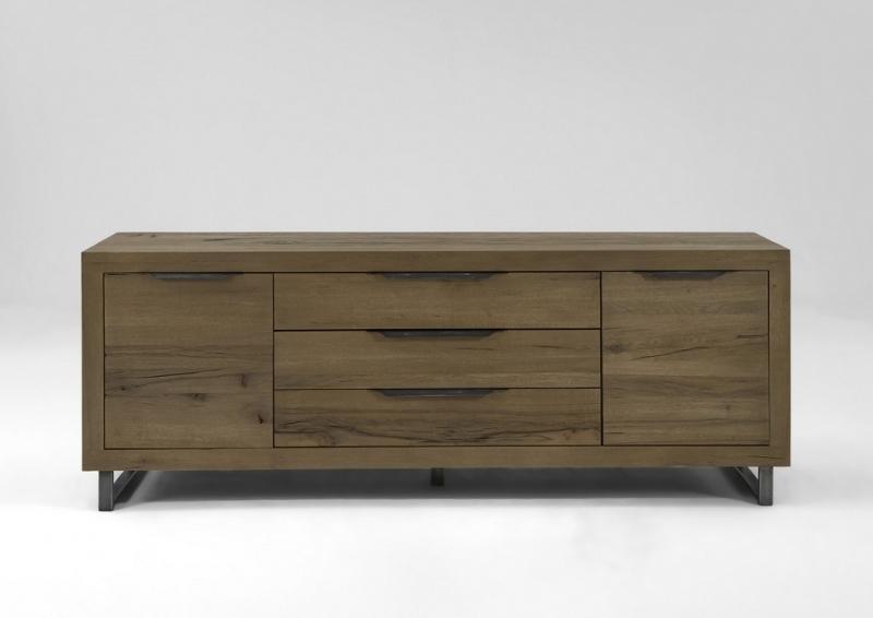 Madia Italia in legno rovere massiccio mobile di design