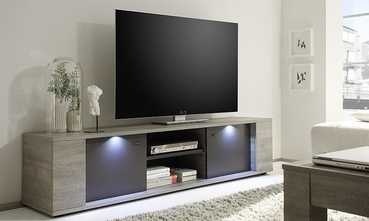 Porta tv moderno Astro G20 mobile per tv grigio soggiorno