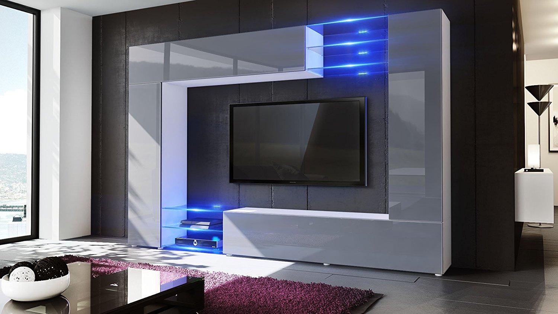Wast Parete porta TV moderno mobile soggiorno in 13 finiture