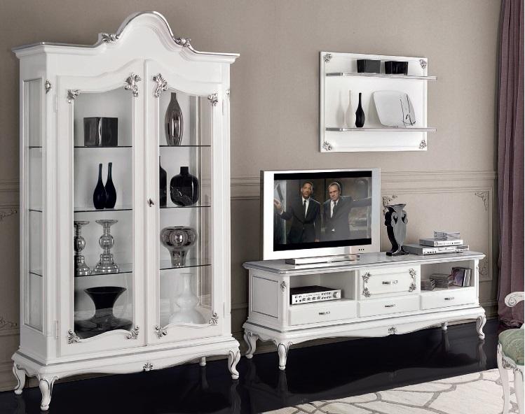 Porta tv classico in stile Art Decmobile televisore retr