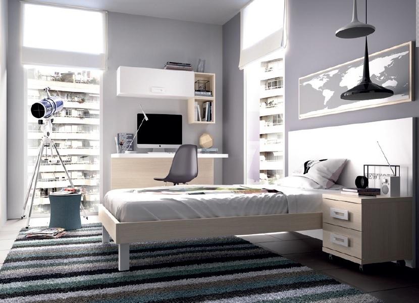 Camera moderna giovane K 507 mobili per ragazzi letto