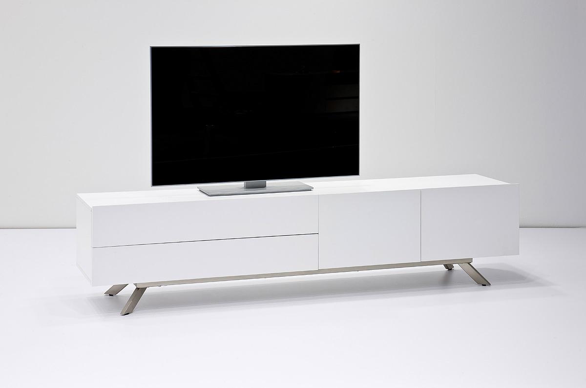 Mobile porta tv Garden per soggiorno elegante bianco e moderno