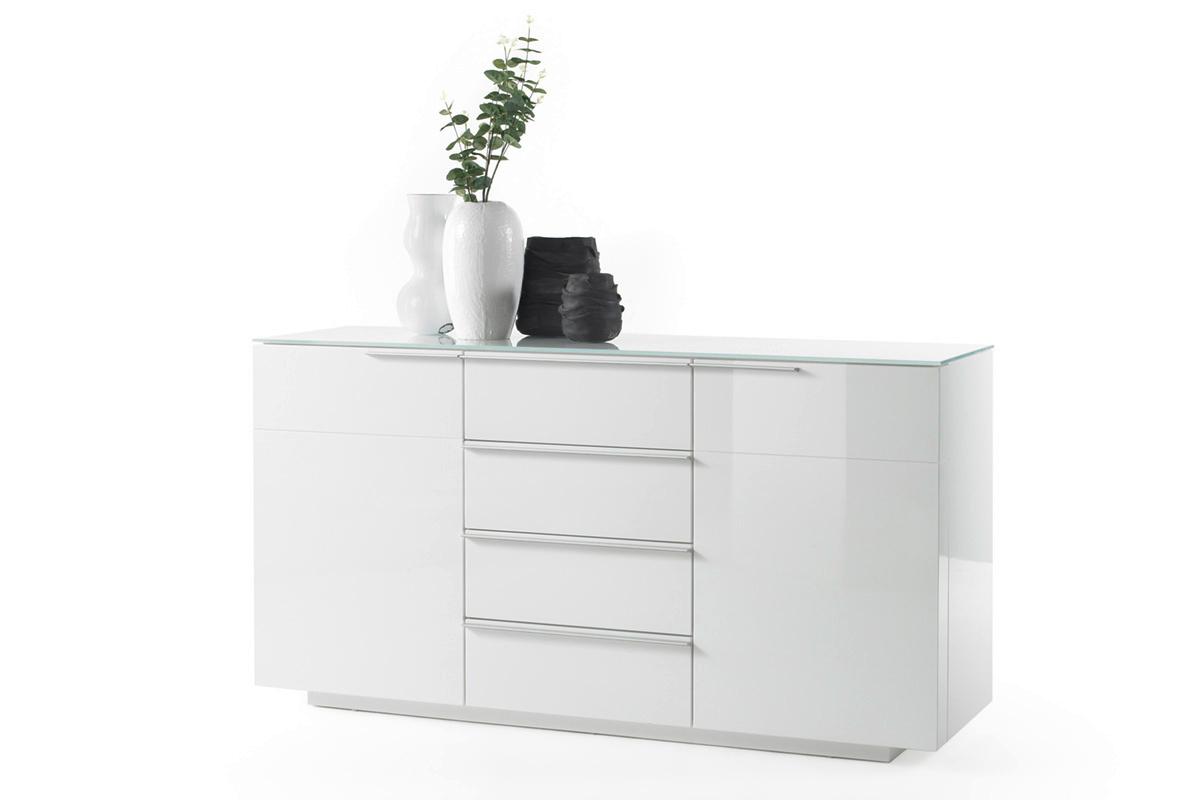Credenza moderna Gea madia bianca mobile soggiornosala