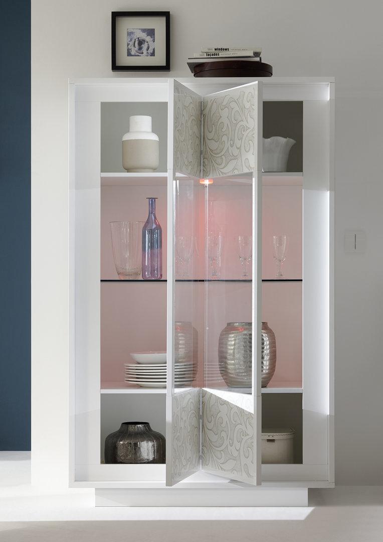 Vetrina moderna Dolce mobile soggiorno sala con led credenza