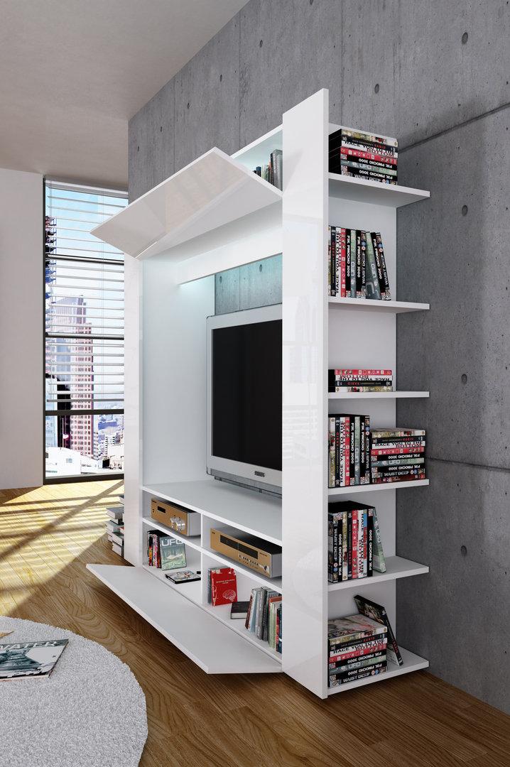 Porta tv grande King parete soggiorno mobile per tv in 5 colori
