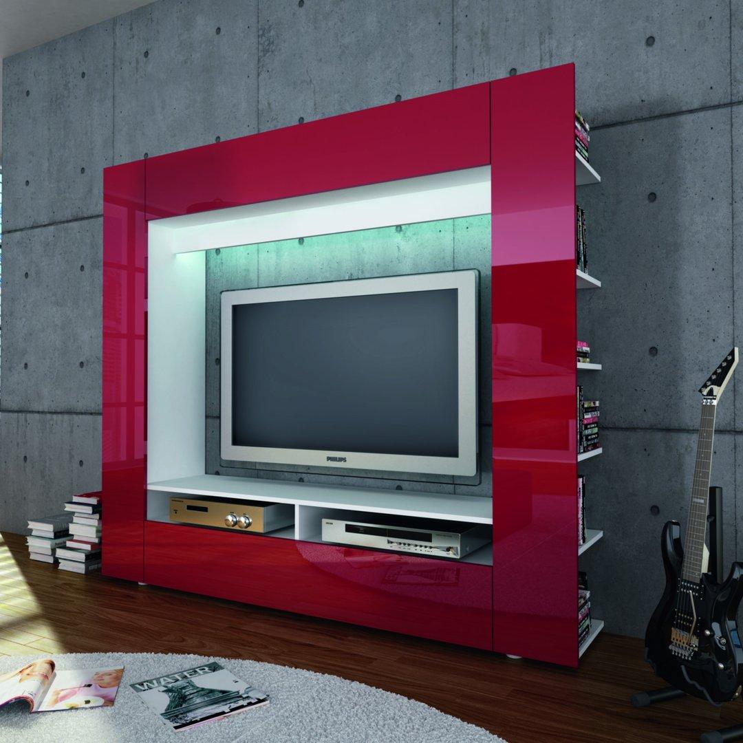 Porta tv grande King parete soggiorno mobile per tv in 5
