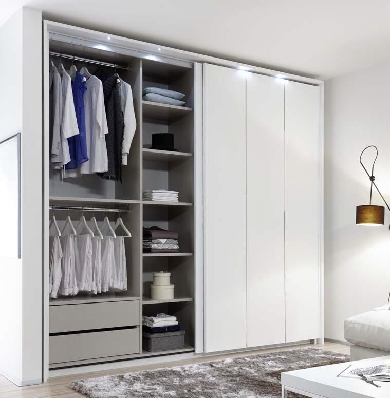 Camera da letto completa Cometa mobili moderni letto armadio