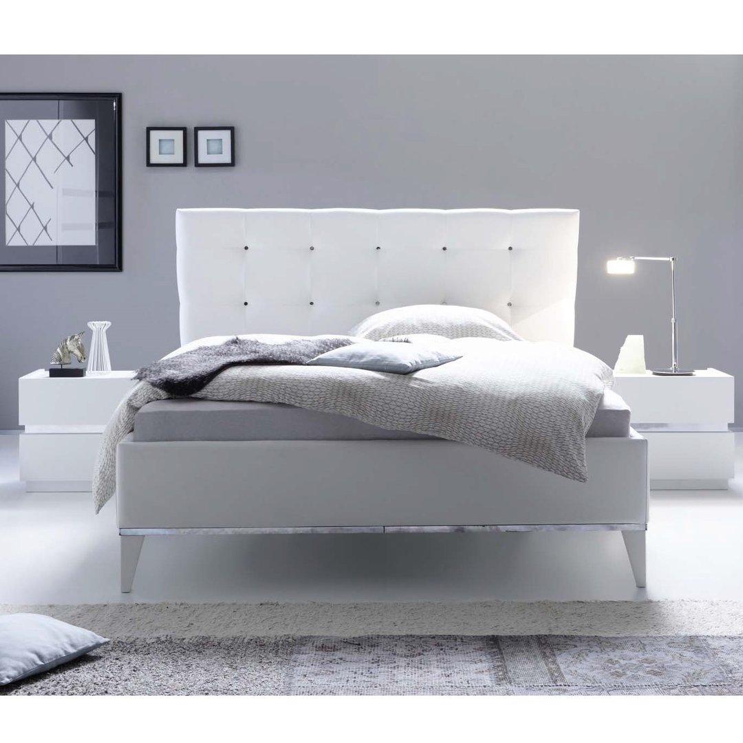 Letto matrimoniale Reno mobile camera da letto moderno 180x200