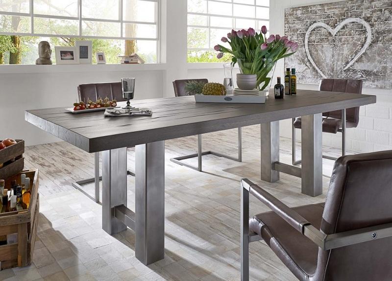 Tavolo in legno massiccio Brennero per cucinasoggiornosala